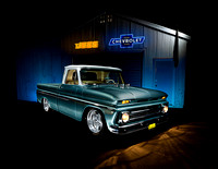 Blue Chevy C10 Jegs